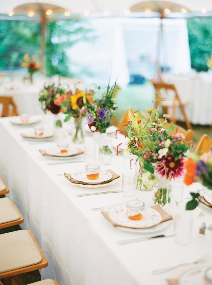 It Takes a Village to Raise a Toast | Island Weddings